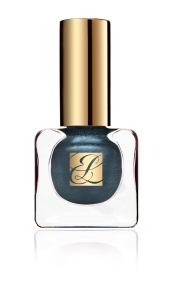 Pure Color Vivid Shine Nail Lacquer in Midnight Metal