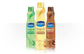 Vaseline spray and go