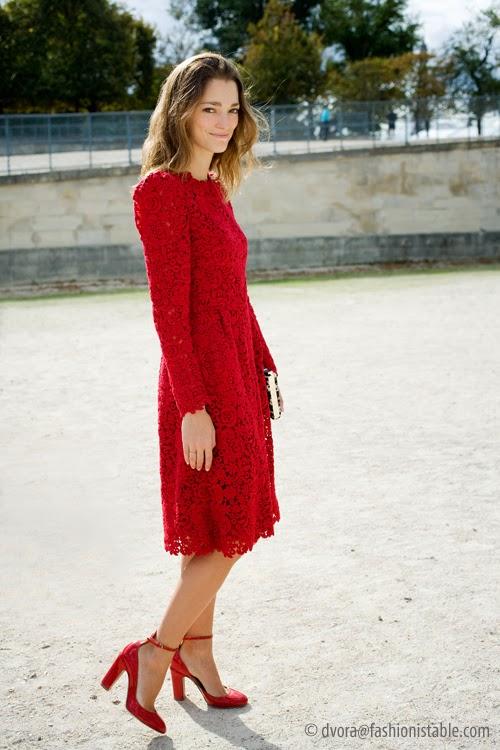 Sofia Sanchez Barrenechea via fashionistable