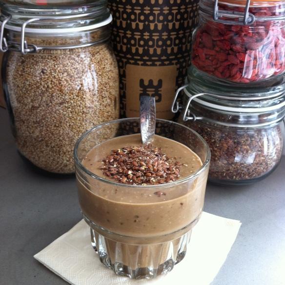 Nut smoothie 1