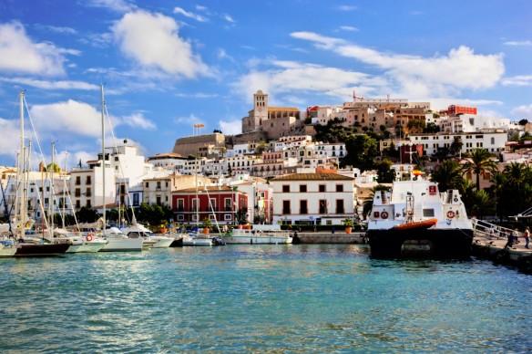 Ibiza-oude-stad