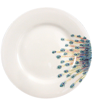 130108-catchii-ontbijtbord-lunchbord-porselein-pauwenstaart-peacock-breakfast-lunch-plate-porcelain-130108