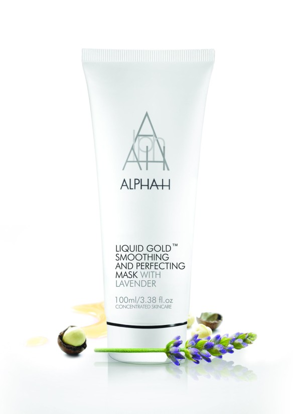 Liquid Gold Smoothing Perfecting Mask_lavender