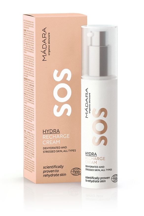 MADARA SOS HYDRA RECHARGE CREAM 33euro FOR WEB