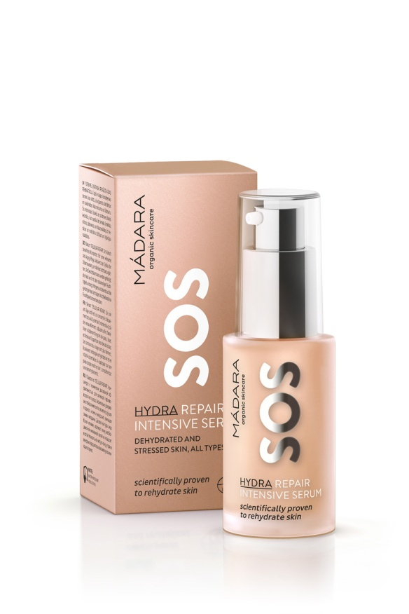 MADARA SOS HYDRA REPAIR INTENSIVE SERUM 35euro FOR WEB
