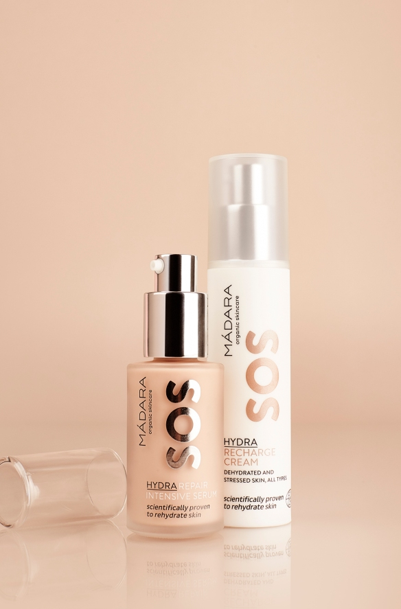 RECHARGE CREAM+SOS HYDRA REPAIR INTENSIVE SERUM(2)